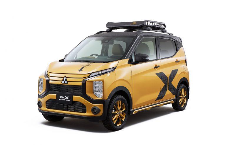 Mitsubishi eK Cross Wild Beast Concept mejeng di Tokyo Auto Salon 2020 (ist)