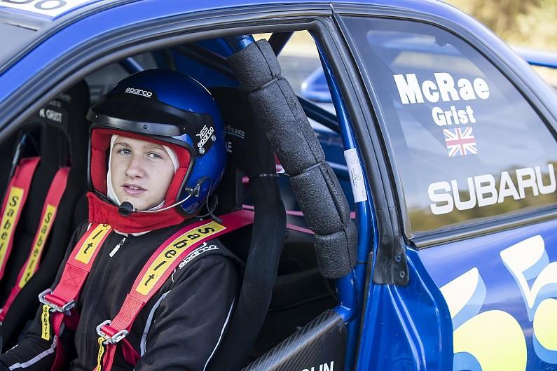 Max McRae jalani debut rally di ajang McRae Rally Challenge (ist)