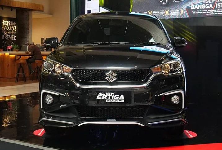 All New Ertiga Suzuki Sport yang didesain khusus bagi kosumen yang berjiwa sporty karena tampil lebih agresif melalui pembaruan sebelas fitur modern.(anto)