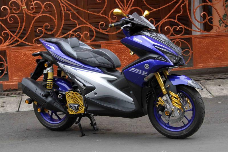 Modifikasi Yamaha Aerox: Simpel Minimalis Tapi Berotot