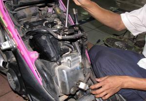 Takar Biaya Servis Besar Mesin Suzuki Skywave, Cukup Modal Rp 395 Ribu