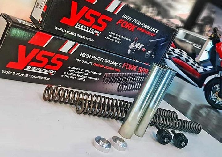 YSS Front Fork Upgrade Kit, Mumpuni Diajak Touring, Adventure Hingga Balap