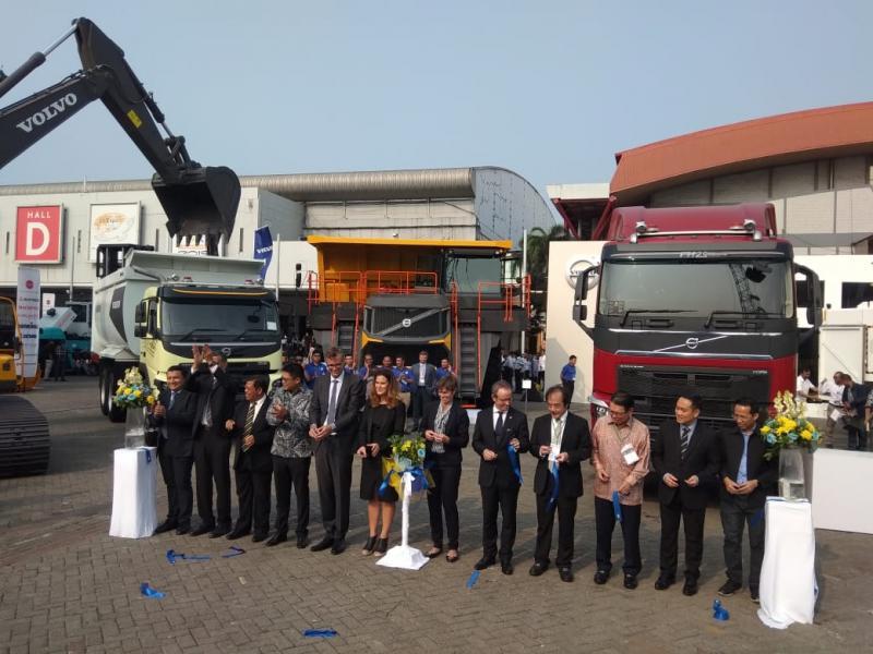 Total ada 6 produk dihadirkan mendukung sektor tambang serta gas dan minyak bumi di Indonesia. (anto)