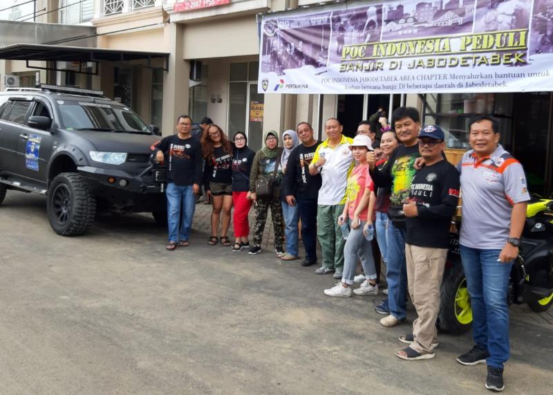 IMI DKI Jakarta di bawah komando langsung Anondo Eko memimpin distribusi bantuan dan evakuasi korban banjir di Jabodetabek.