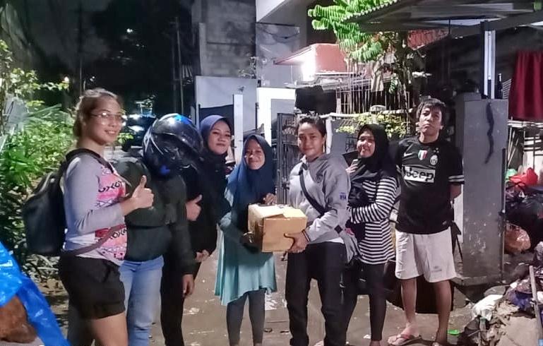 Mantap, Lady Bikers Indonesia Galang Bantuan Dan Donasi Bagi Korban Banjir Di Wilayah Jabodetabek