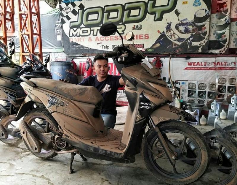 Berikut 3 Langkah Jitu JDM Project, Recovery Motor Pasca Terendam Banjir