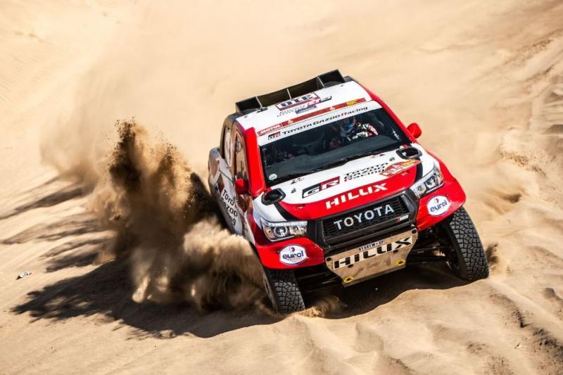 Menunggu 2,5 jam di gurun pasir, pengalaman pahit perdana Fernando Alonso di Rally Dakar 2020. (Foto: f1)