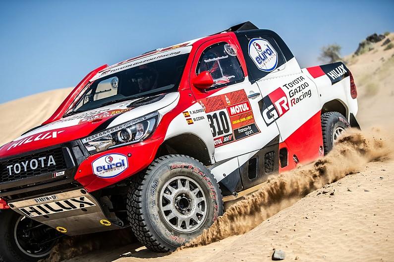 Kiprah Fernando Alonso di Rally Dakar 2020, kendala awal di hari kedua. (Foto: autosport)