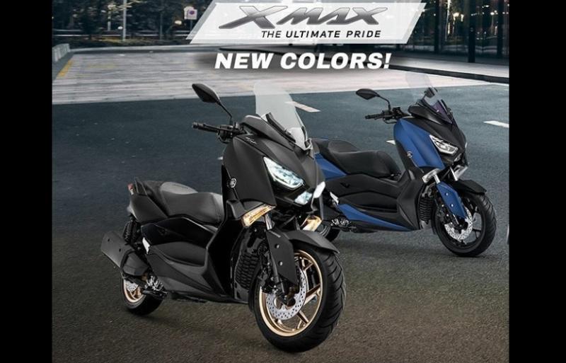 Tingkatkan Pride, YIMM Rilis Warna Baru Yamaha XMAX 250