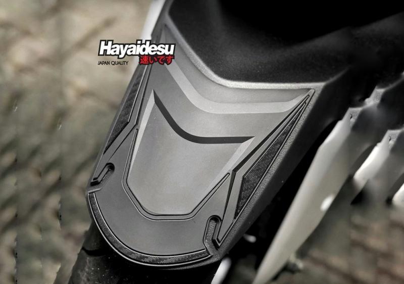 Hayaidesu Front Fender Cover, Meminimalisir Lecet Spatbor Depan Yamaha XMAX