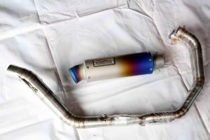 Knalpot B'Pro Titanium, Diajak Mejeng Bikin Ngiler