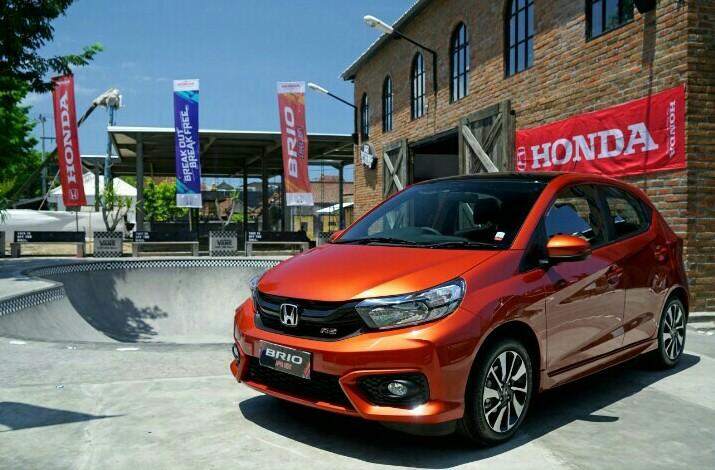 Honda Brio mencetak penjualan 70.441 unit atau meningkat 38 persen dibanding tahun 2018. (foto : hpm)