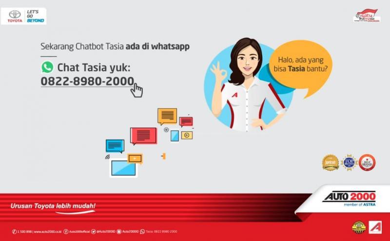TASIA dapat langsung menjawab pertanyaan konsumen tanpa harus menunggu TASIA membaca chat atau mengetik jawaban atas pertanyaan pelanggan. (ist)