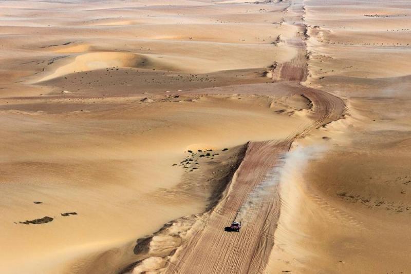 Ini lokasi awal SS10 Rally Dakar 2020 yang bikin rookie macam Fernando Alonso tergoda untuk gaspol habis. (Foto: dakar)