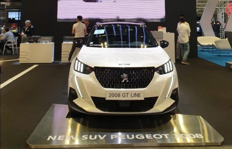 Salah satu SUV andalan Peugeot mejeng di Singapore Motor Show 2020