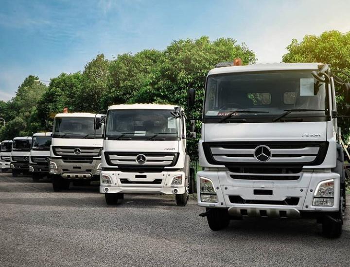 DCVI menyatakan komitmen ini melalui kesiapan lini produk kendaraan niaganya dalam menggunakan bahan bakar B30. (mercedesbenzid.truck)