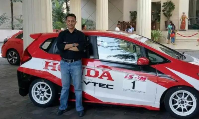 Ario Danu, banyak sisi positif jika Formula E jadi digelar di Jakarta. (Foto : bs)
