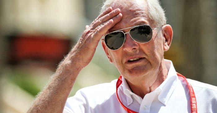 Dr. Helmut Marko, penasehat tim Red Bull. (Foto: planetf1)