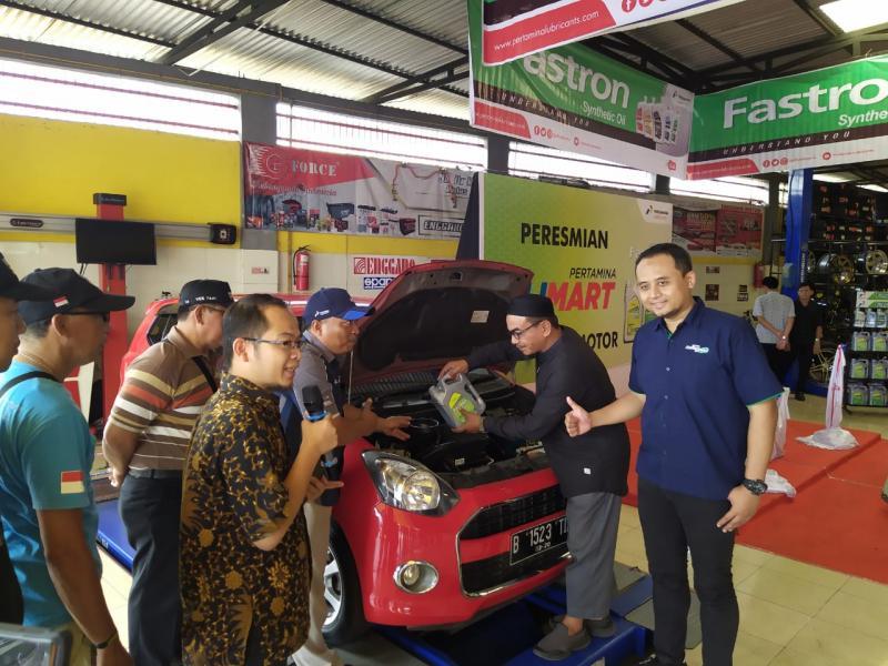 Olimart Enggano Motor, Kota Baturaja, Sumatera Selatan resmi beroperasi