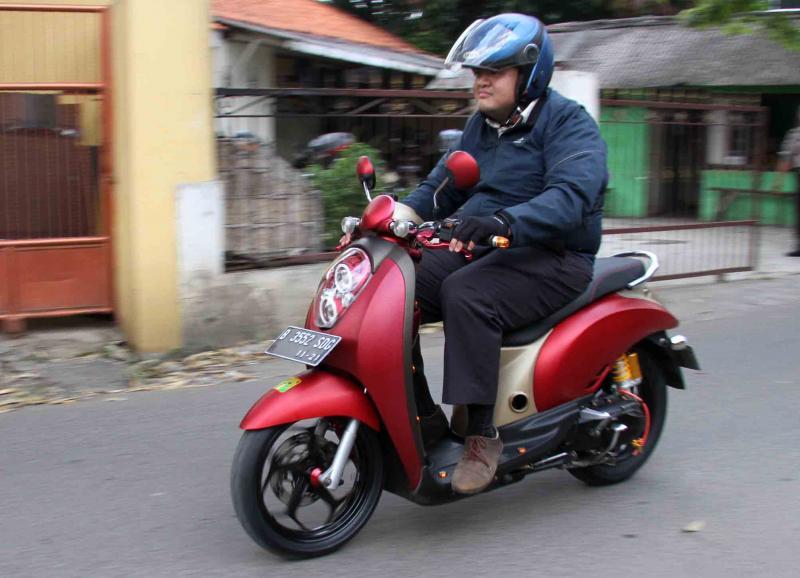 Modifikasi Honda Scoopy: Minimalis Tapi Paten, Tampil Makin Elegan