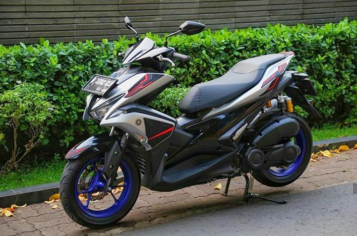 Hanya Modal Hayaidesu Body Protector, Tampang Yamaha Aerox 155 Makin Ganteng