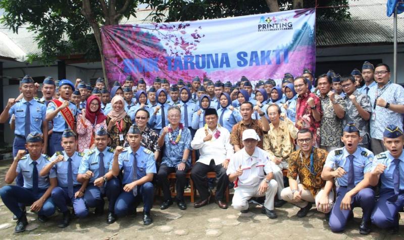 Hino Indonesia mendukung program pendidikan vokasi link and match antara Sekolah Menengah Kejuruan (SMK) dengan Industri.(ist)