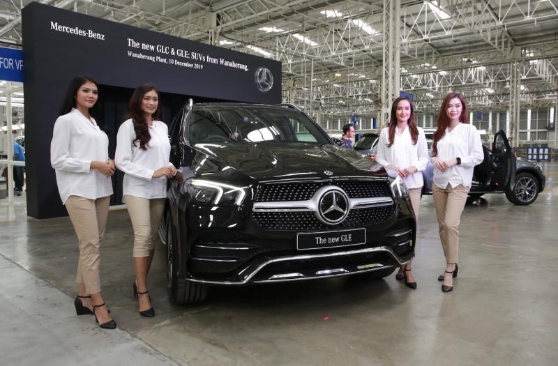 Kendaraan SUV, termasuk GLA, GLC, GLC Coupé, GLE, GLE Coupé, GLS dan G-Class merupakan kendaraan Mercedes-Benz terlaris di tahun 2019. (ist)