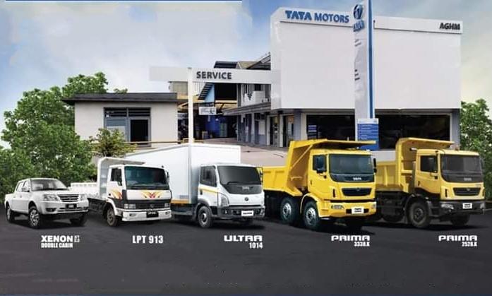 Tata Motors yang memiliki ragam kendaraan model pick-up yang laris, juga punya lini produk Truk Tata Prima 2528.K, Truk Tata Ultra 1014, Tata Xenon DC (Double Cabin) dan Truk Tata LPT 913. (edited: anto).