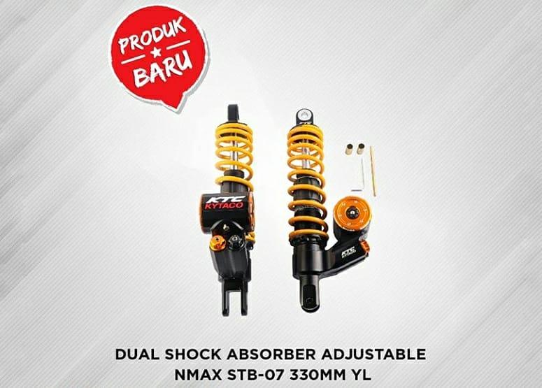 KTC Kytaco Menawarkan Shock Absorber Adjustable Buat Yamaha NMAX