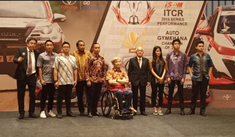 Skuad Toyota Team Indonesia yang sukses dengan prestasi terbaik di tahun 2019. (Foto ; bs)