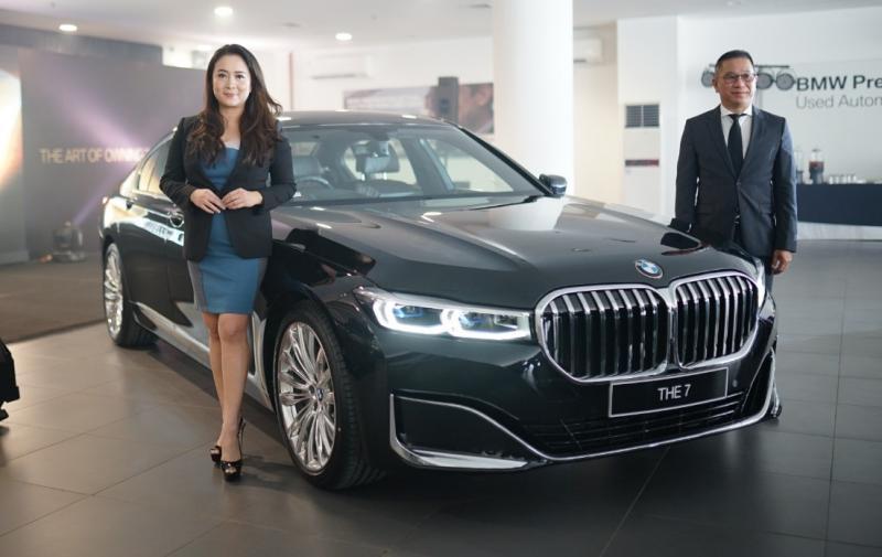 New BMW 7 series adalah sedan premium mewah dengan tampilan desain elegan serta teknologi inovatif yang telah dirakit secara lokal. (ist)