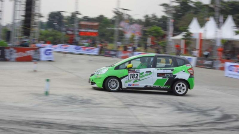 Tahun ini kejurnas slalom auto gymkhana akan melebarkan sayap ke Lampung dan Palembang Sumatera Selatan. (Foto : MLDSpot)