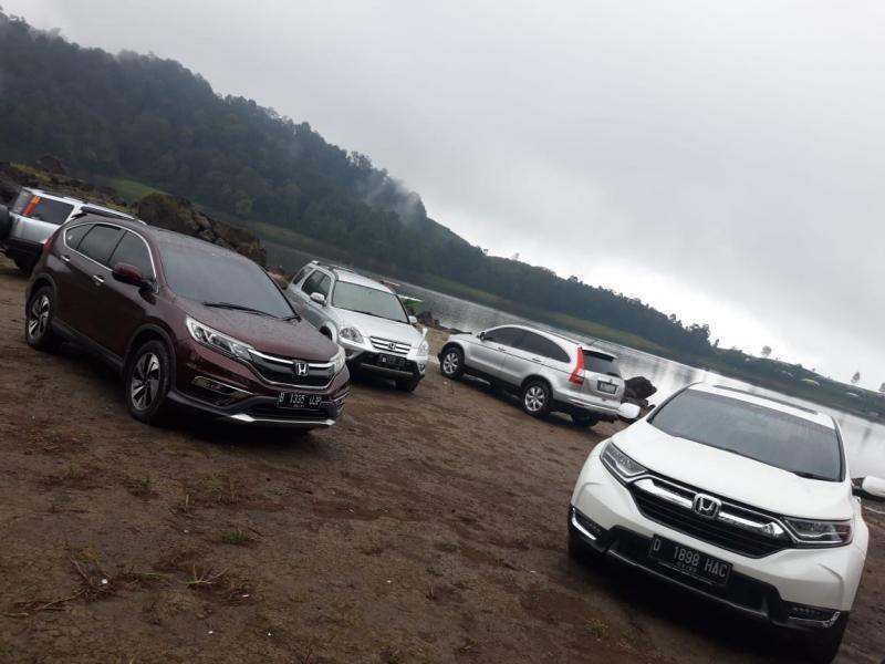 Lima generasi Honda CR-V selama 20 tahun di Indonesia