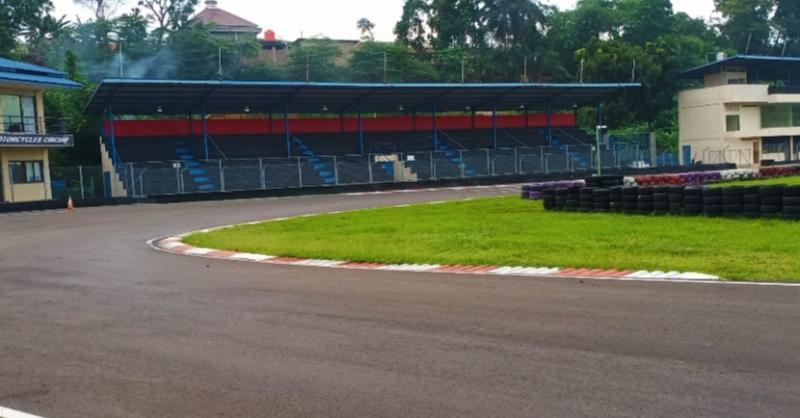 Sentul International Karting Circuit Bogor difoto pada Sabtu, 11 Januari 2020. (Foto : bs)