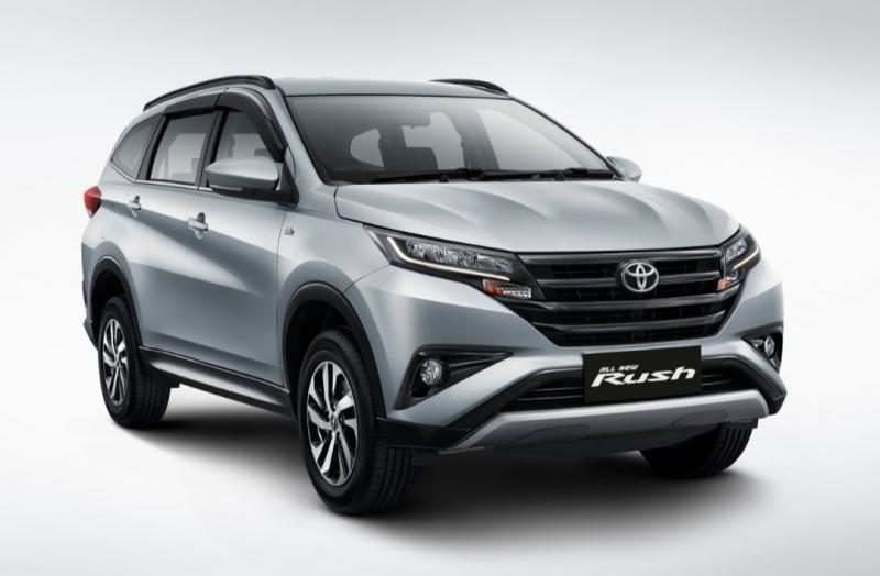 New Rush memberikan kontribusi signifikan dari segmen SUV
