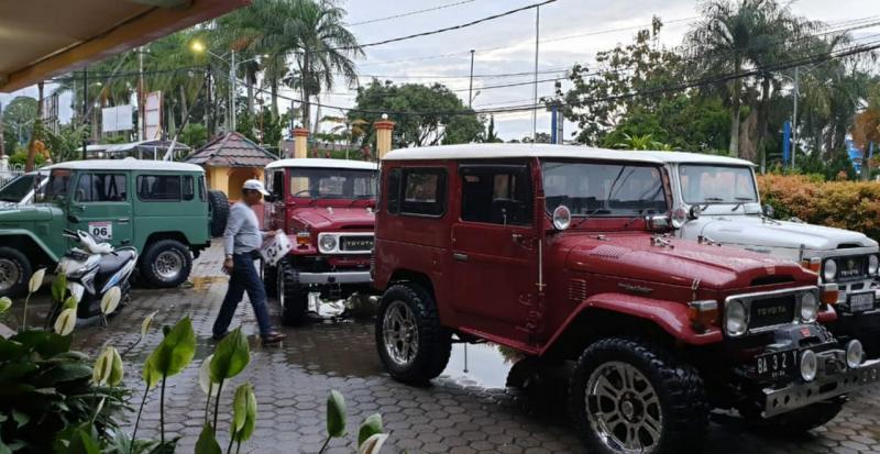Komunitas TLCI Kerinci bersiap menuju Ranah Minang. (Foto : halim)