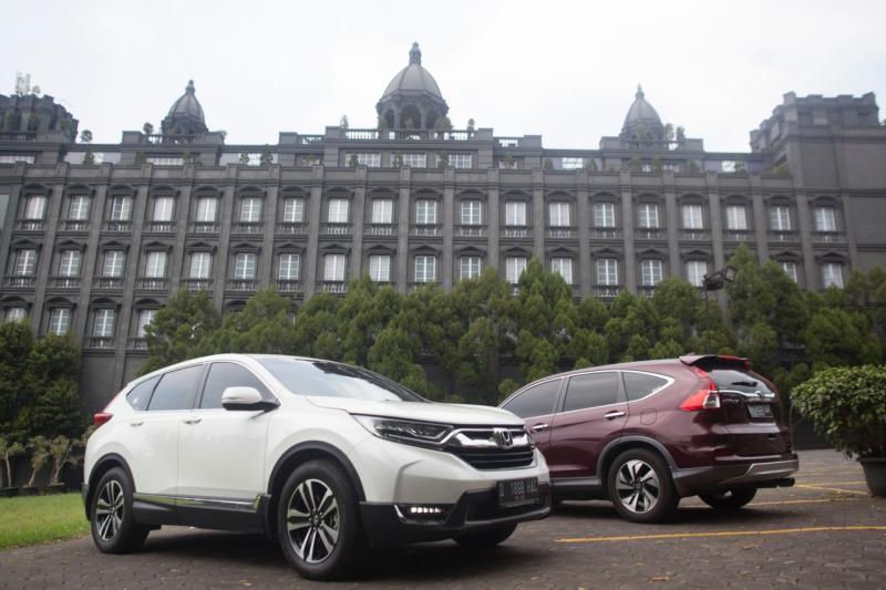 Honda CR-V menginjak usia 20 tahun di Indonesia