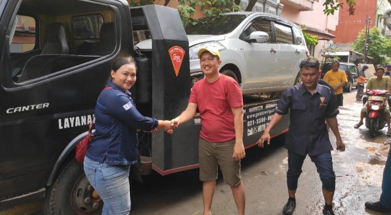 Suzuki sigap membantu pelanggan setia terdampak korban banjir