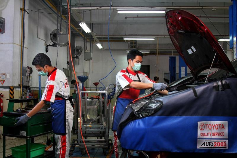 Auto2000 membuat urusan Toyota lebih mudah, termasuk urusan servis periodik enam bulan yang harus dilakukan secara rutin. (dok. Auto2000)