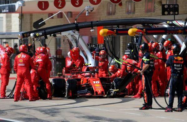 Charles Leclerc bersama kru Ferrari, bakal sembunyikan kekuatan di winter testing? (Foto: gpblog)
