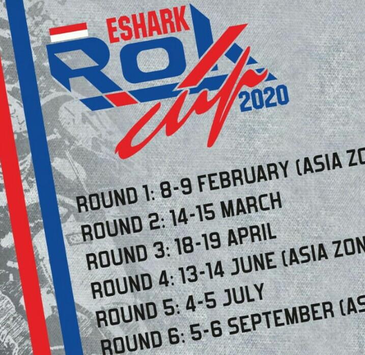 Enam Kejurnas Eshark Rok Cup 2020 dihelat 6 putaran di SIKC Bogor