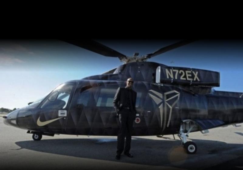 Legenda NBA Kobe Bryant sesaat sebelum naik helikopter yang kemudian alami insiden kecelakaan yang merenggut nyawanya