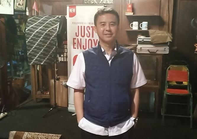 Stanley Irawan, diminta Tinton Soeprapto mendesain sirkuit Gokart Sentul karena Indonesia belum punya sirkuit gokart permanen. (Foto : bs)