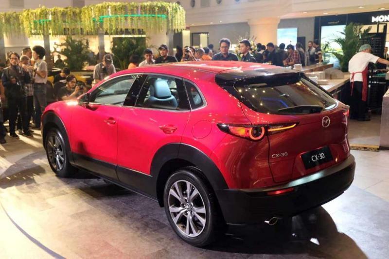PT Eurokars Motor Indonesia (EMI) resmi meluncurkan Mazda CX-30 untuk pasar Indonesia