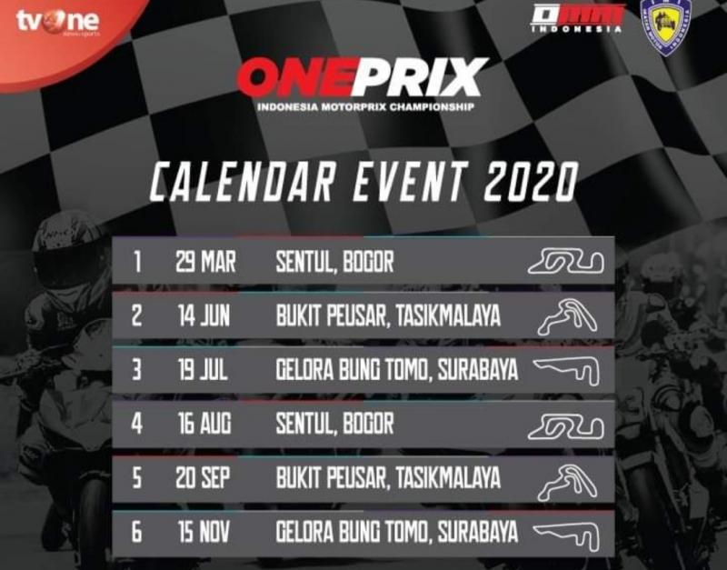 Kenapa Jadwal Oneprix Championship 2020 Tak Di Venue Dengan 2 Seri Berurutan?