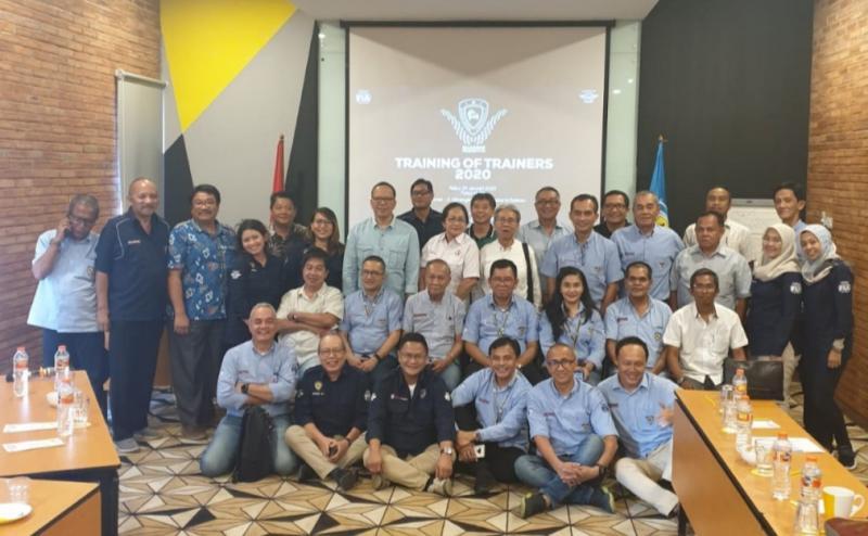 Peserta Training of Trainners oleh IMI Pusat di Yellow Hotel Jl Minangkabau, Jaksel, Rabu kemarin