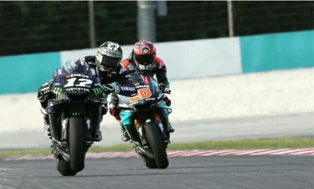 Fabio Quartararo dan Maverick Vinales akan bersatu di tim Yamaha 2021. (Foto: motorsport)
