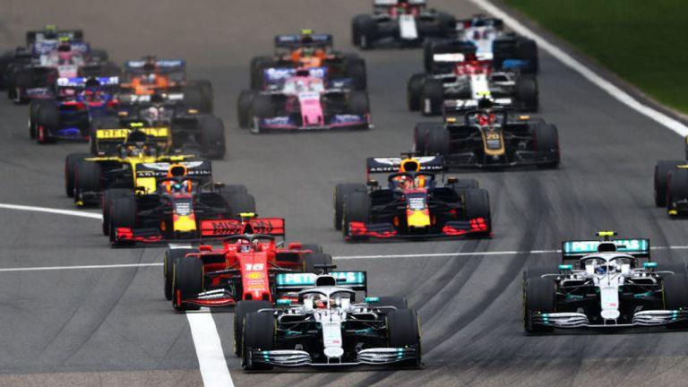 Seri keempat F1 2020 GP China di Shanghai, terancam batal oleh virus Corona yang mewabah. (Foto: skysports)