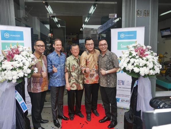 Dealer yang berlokasi di Rawamangun ini menjadi dealer keempat sejak kedua perusahaan memulai kolaborasi pada tahun 2018 lalu. (ist)