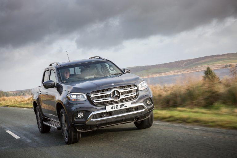 Mercedes-Benz stop produksi model pick up truck, Mercedes Benz X-Class (ist)